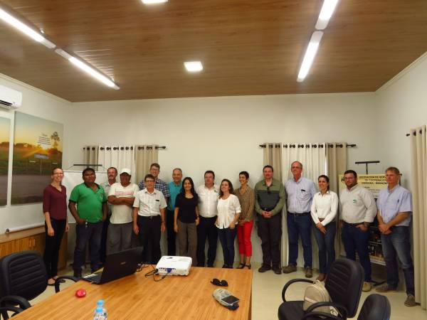 Visita del World Bank Group in Yalve Sanga